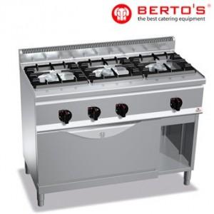 Cocina de 3 fuegos + horno bertos