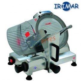 Cortadora de fiambres con disco de 250 mm de diámetro