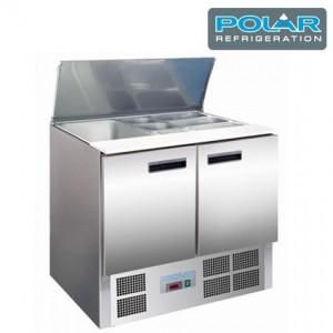 Mesa para ensaladas refrigeradas