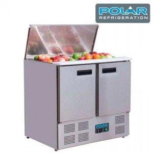 Mesa refrigerada para preparación de ensaladas POLAR