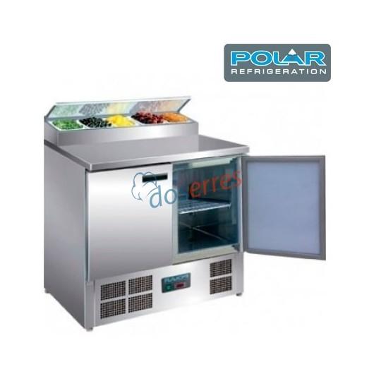 Mesa refrigerada POLIVALENTE para ensaladas  y pizzas Polar