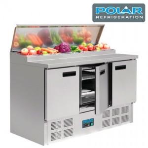 Mesa refrigerada POLIVALENTE G 604 para ensaladas  y pizzas Polar
