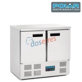 Mesa de refrigeración 2 puertas