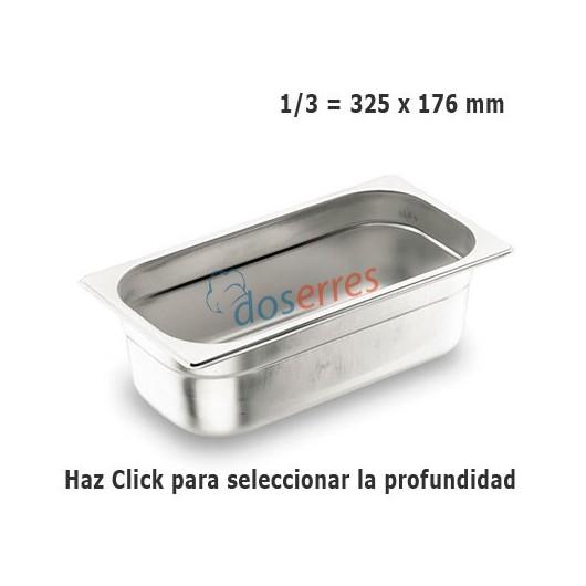Cubeta Gastronorm 1/3