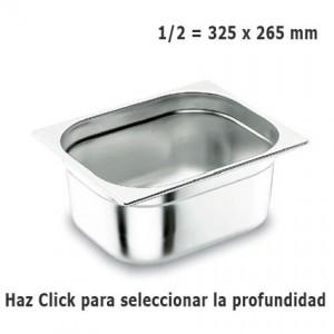 Cubeta Gastronorm 1/2