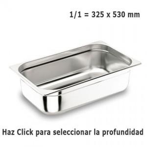Cubeta Gastronorm GN 1/1