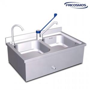 Fregadero y lavamanos conjunto