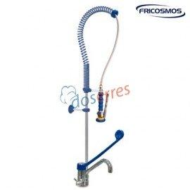 Grifo ducha 2 aguas con monomando codo