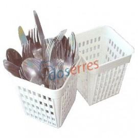 Cubilete cubiertos lavavajillas y lavavasos
