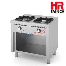 Cocina de 2 fuegos con horno HR Fainca