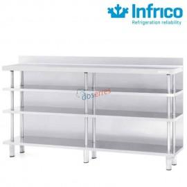 Mueble estantería 2500 x 300 mm