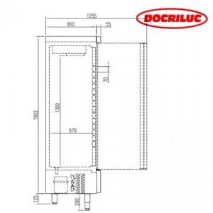 Armario Refrigeración 2 puertas Docriluc