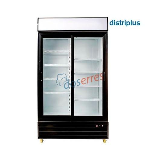 Armario refrigerado con puertas correderas de cristal cab 1100 - Armario con puertas de cristal ...