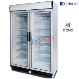 Armario puerta cristal Congelación
