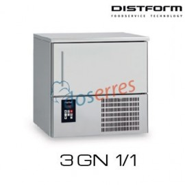 Abatidor de temperatura Distform 3 GN 1/1