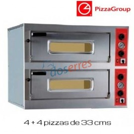 Horno pizza doble Entry 8 Pizzagroup
