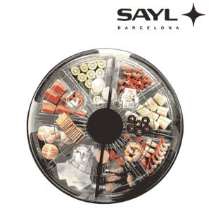 Vitrina redonda Sayl buffet