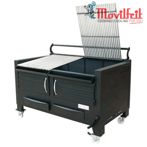 Barbacoa brasa movilfrit modelo M140