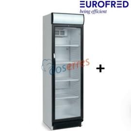 Armario con puerta de cristal CEV-425-CP Eurofred