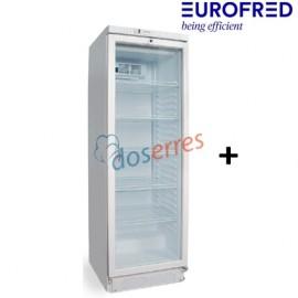 Armario con puerta de cristal BFS-38 Eurofred