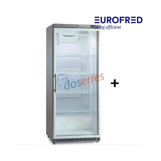 Armario con puerta de cristal RCGX-600 Eurofred
