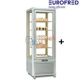 Armario 4 caras de cristal refrigerado Prisma 400