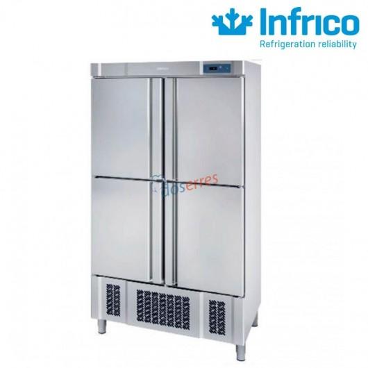Armario de refrigeración 4 puertas infrico AN904