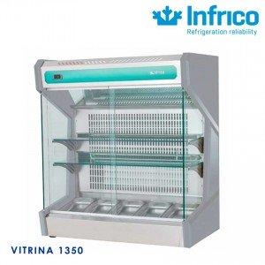 Vitrina mural sobremostrador VMS-1350 Infrico