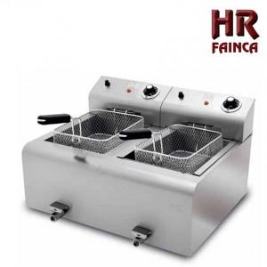 Freidora FD8+8L HR FAINCA
