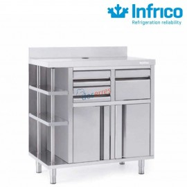 Muebe cafetero 1 mts Infrico