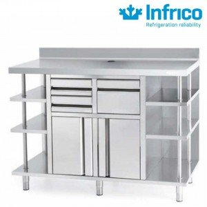 Mueble cafetero 1500 Infrico