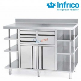 Mueble cafetero 1500 Infrico