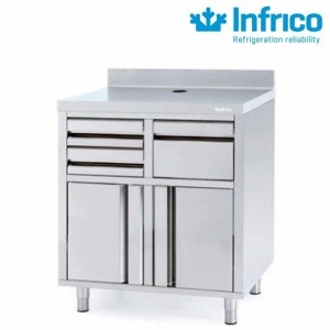 Mueble cafetero 820 Infrico