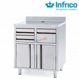 Mueble cafetero 820 Infrico