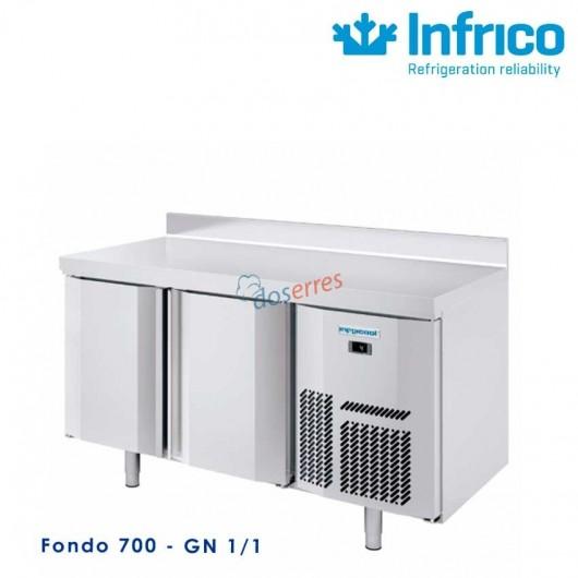 Mesa refrigerada Infricool 1500 X 700