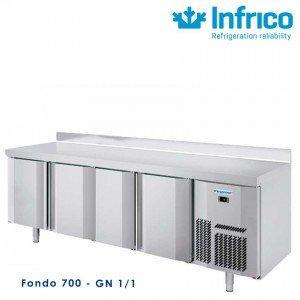 Mesa refrigerada Infricool 2500 X 700