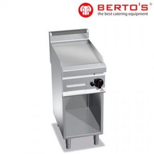 Fry Top de Cromo Duro con soporte gama 700 bertos