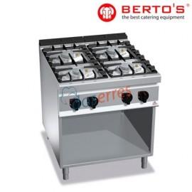 aa4213228ed Cocina de 4 fuegos sobre soporte, fondo 900
