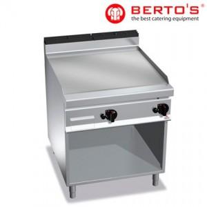 Fry Top Cromo Duro con soporte gama Máxima 900 bertos