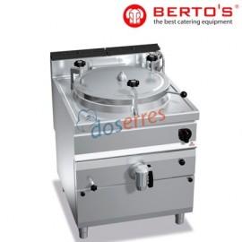 Marmita Gas Autoclave directa de  100 lts
