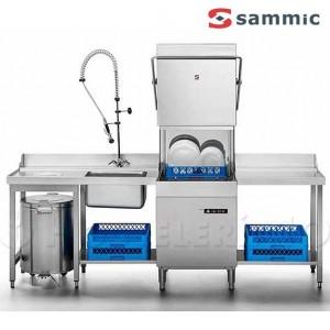 Conjunto lavavajillas cupula Sammic