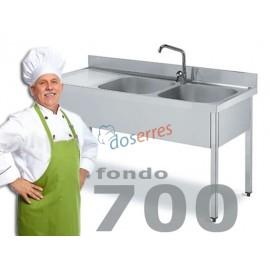 Fregadero fondo 700